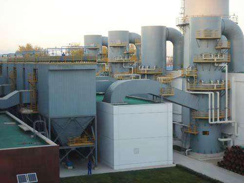 GXCD系列管状静电除尘器